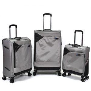 סט 3 מזוודות Slazenger  דגם miami