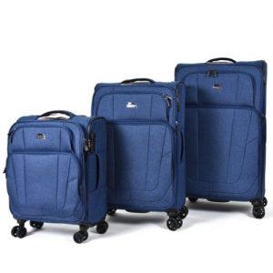 סט 3 מזוודות slazenger  דגם לוטון