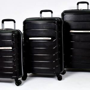 סט 3 מזוודות swiss pro דגם seattle