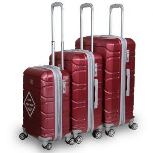 סט 3 מזוודות swiss mountain  דגם zen