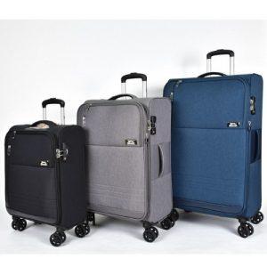 סט 3 מזוודות Slazenger  דגם malibu