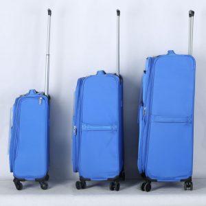 סט מזוודות בד קלות משקל במיוחד דגם איטליה של חברת ויגור
