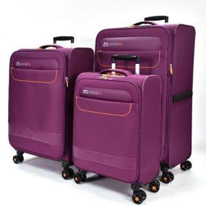 סט 3 מזוודות Slazenger  דגם dakota
