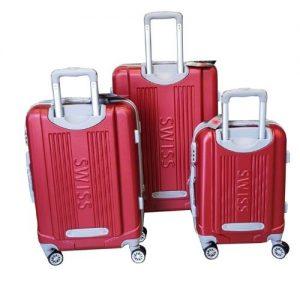 סט 3 מזוודות swiss mor דגם סוויס מור 002