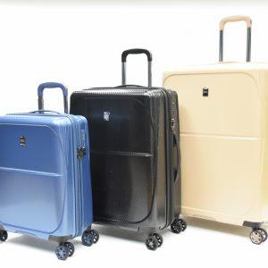 סט מזוודות דגם דטרויט SLAZEINGER
